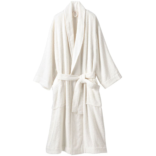OGC Blend Supple Bathrobe L Off White