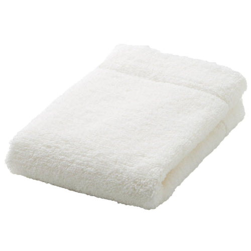 Organic Cotton Blend Medium Thick Hand Towel Off White