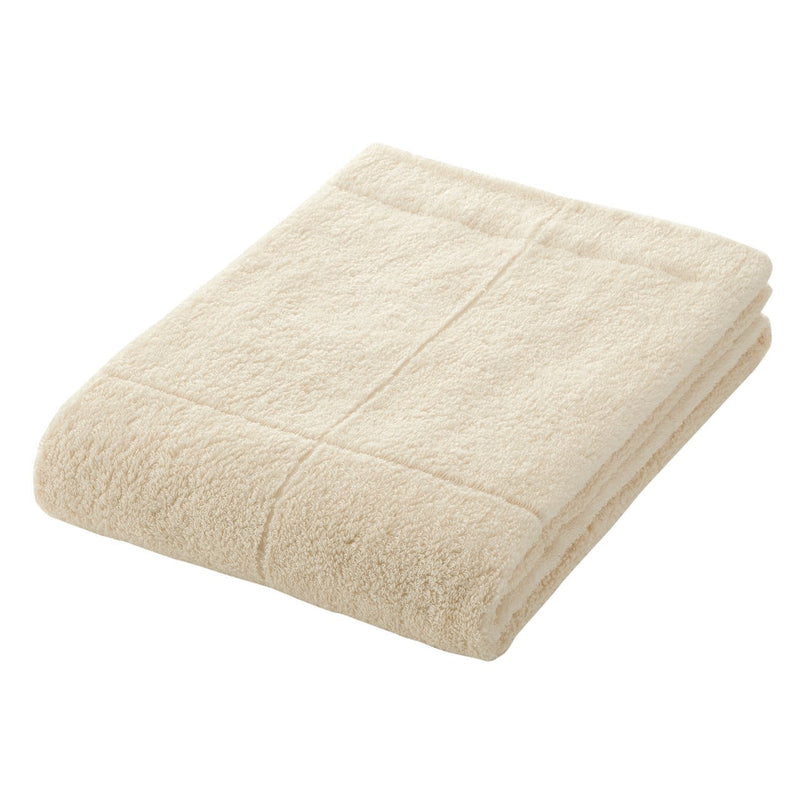 OGC Blend Medium Thick Bath Towel With Future Options Ecru