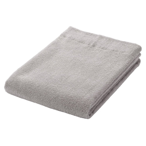 OGC Blend Thin Small Small Bath Towel Light Grey