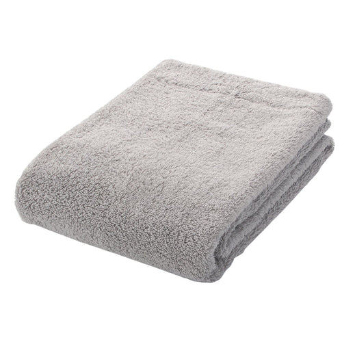 OGC Blend Medium Thick Small Bath Towel Light Grey