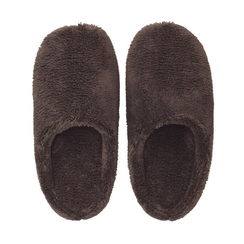 Micro Fiber Insole Cushion Slipper Xl Brown