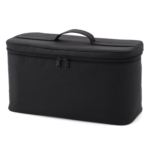 Nylon Makeup Box Black