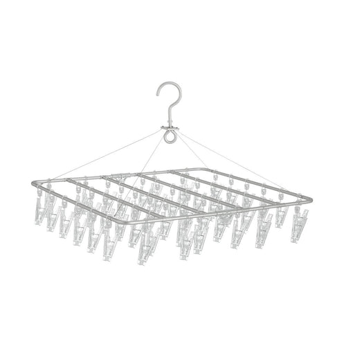 Aluminium Square Hanger With Pegs / M
