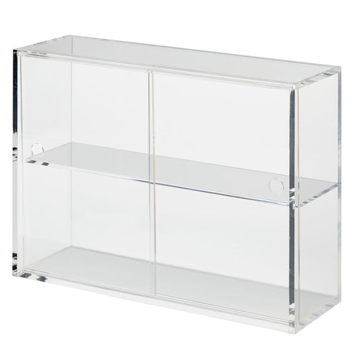 Acrylic Display Case With Sliding Doors / S