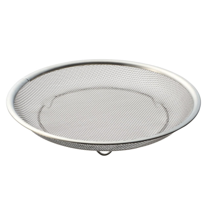 Stainless Steel Flat Colander / M