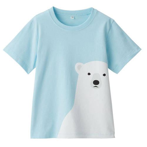 Indian Cotton Jersey Printed T-Shirt (Kids)