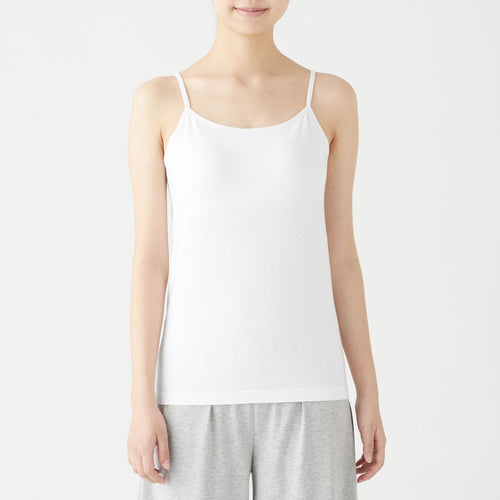 Silk Mix Camisole With Removal Cup