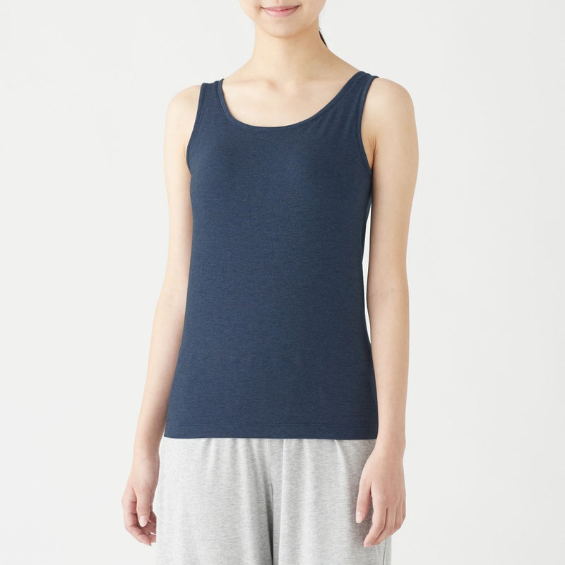 Silk Mix Tanktop With Removal Cup