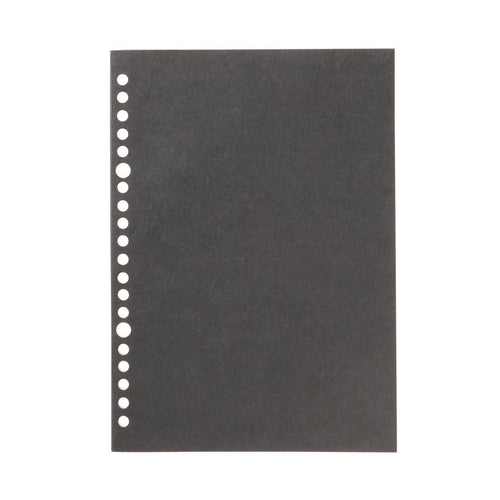 Filler Paper Notebook / Black / A5