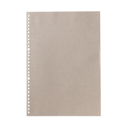 Filler Paper Notebook / Gray / A4