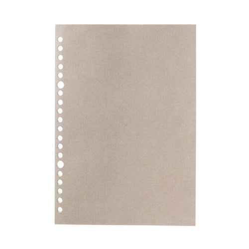 Filler Paper Notebook / Gray / A5