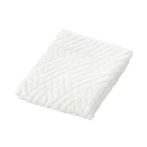 Cotton Pile Jacquard Medium Thick Hand Towel Off White