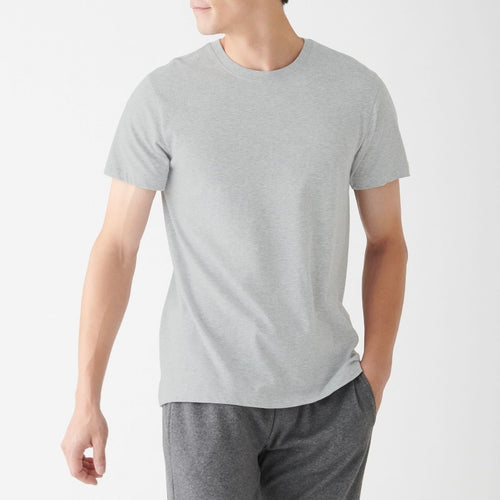 Side Seamless Crew Neck T-Shirt 2 Pack