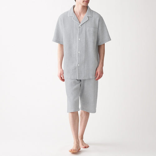 Mens Side Seamless Waffle S/S