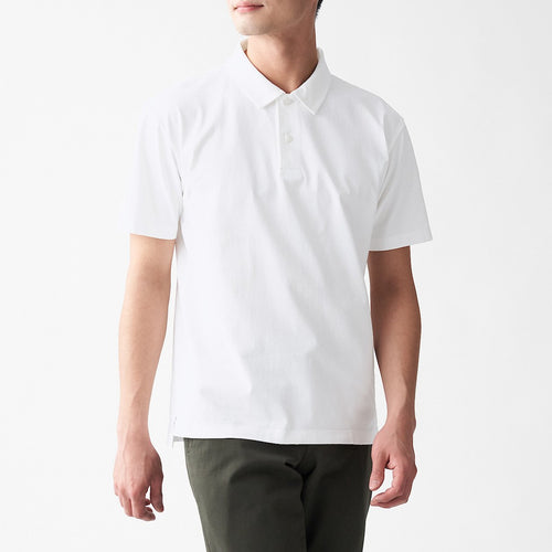 Xinjiang Cotton Jersey Stitch Polo Shirt