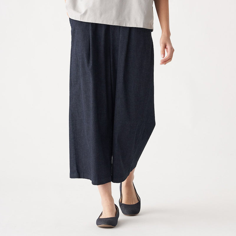 Stretch Light Oz Denim Wide Pants