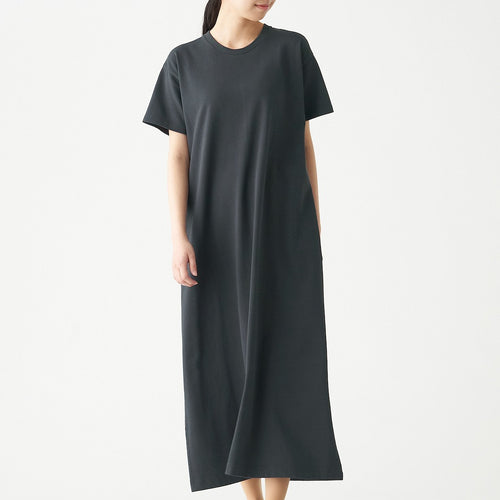 Wide Count Jersey Stitch Flair Dress