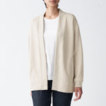 Knit Fleece Wide Cardigan