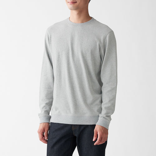 Xinjiang Cotton Jersey Stich Loose Twisted L/S T-Shirt