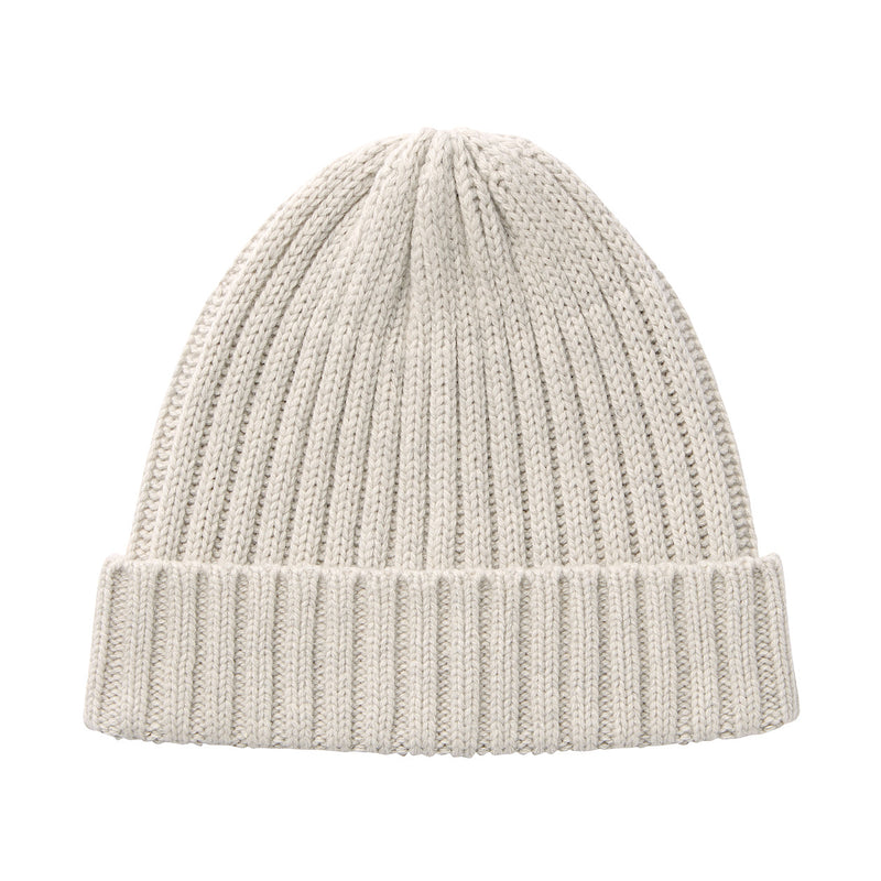 Non-Itchy Ribbed Beanie