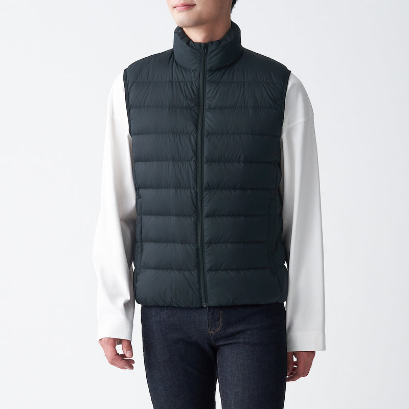 Light Weight Pocketable  Down Vest