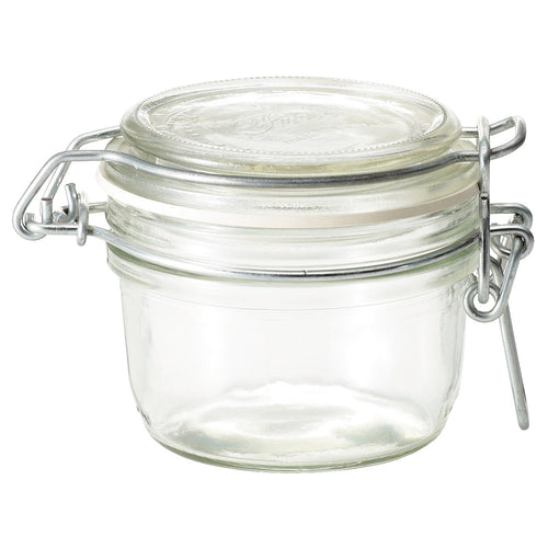 Soda Glass Storage Jar / About 170Ml Capacity