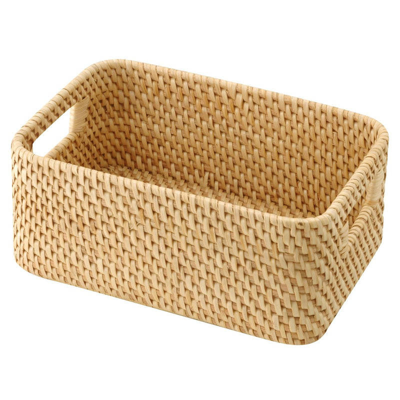 Rattan Box With Handle