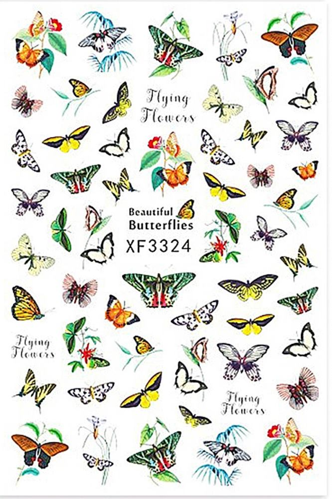 Butterfly Nail Stickers