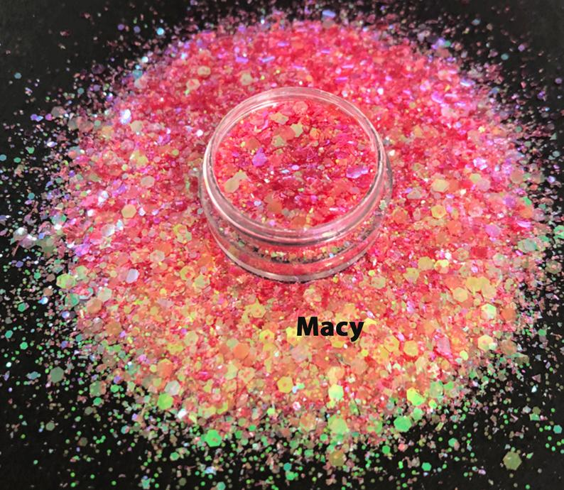 Chunky Glitter for Nails -Macy