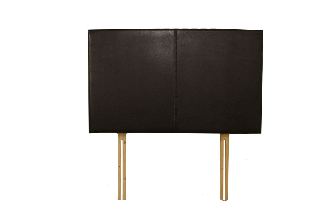 Saturn 5' Headboard Brown, Cream or Black  PU