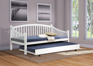 Carla pull out bed, beech or white