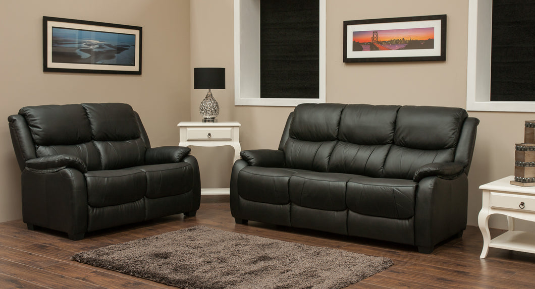 Parker Half Leather Suite