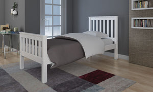 Rio 4'6 bed in Grey or White