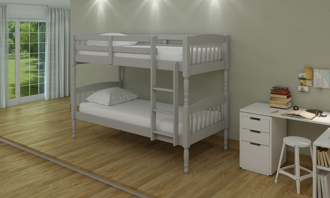 Alex bunk beds in grey