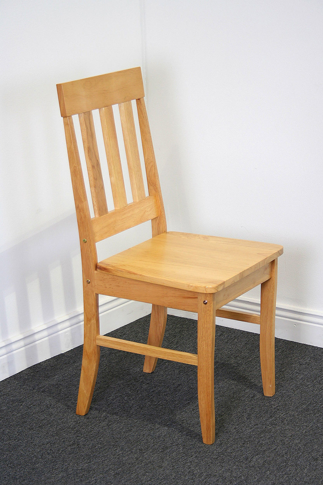 Milton chair with wood seat, flatpack