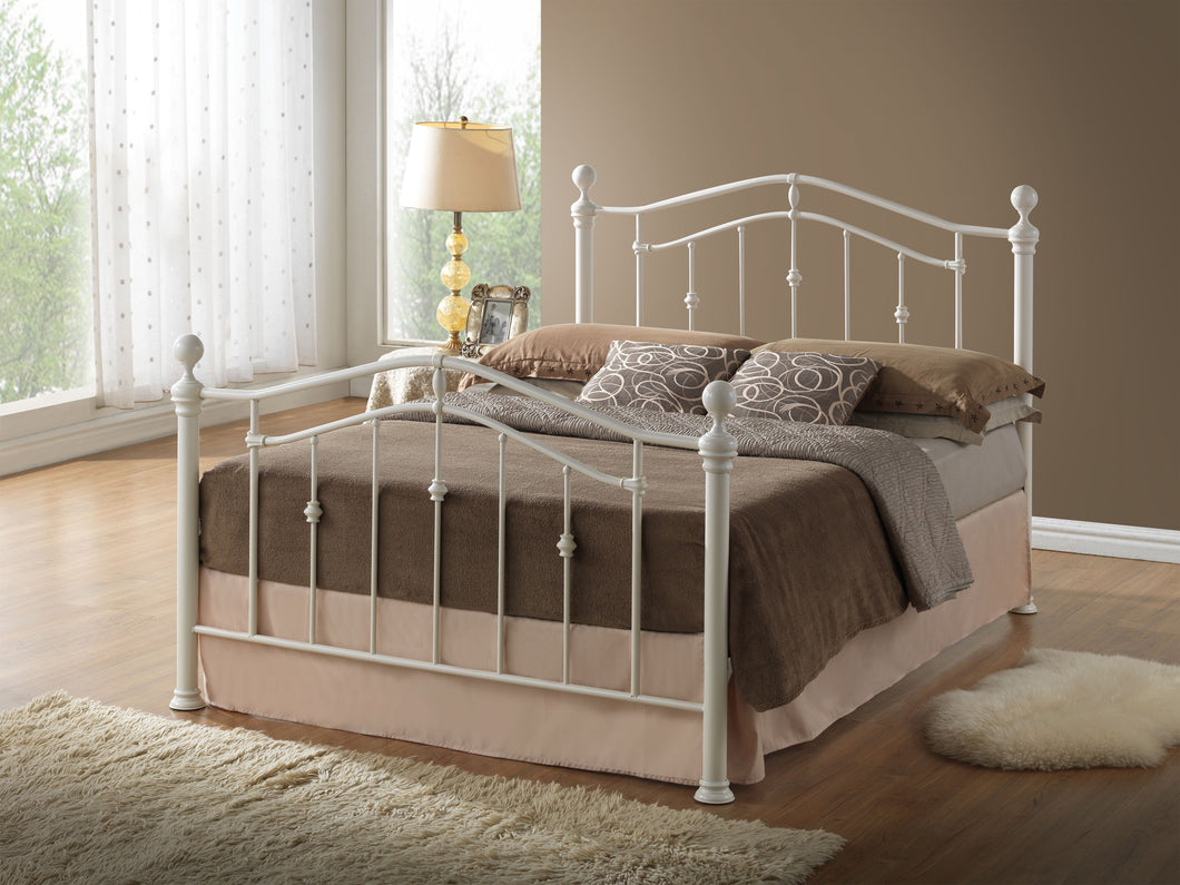 Elizabeth 3' Cream or Grey bed