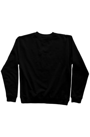 GOAT BRANDED CREW NECK - Black on Black