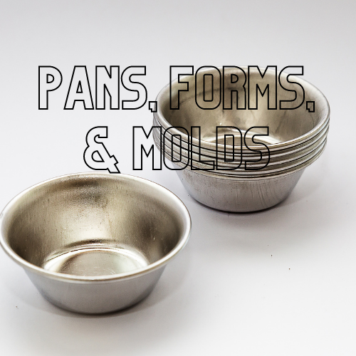 Pans, Forms, and Molds