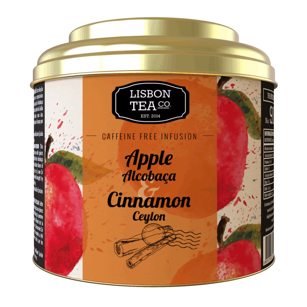 Lisbon Tea Co. Alcobaça Apple & Ceylon Cinnamon Infusion
