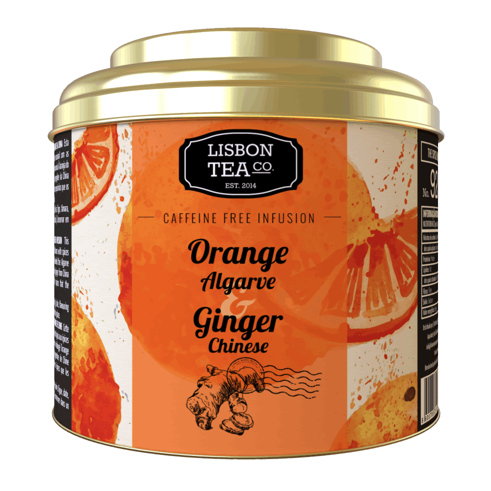 Lisbon Tea Co. Algarve Orange & Chinese Ginger Infusion