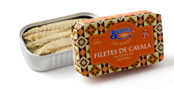 Briosa Gourmet Mackerel Fillets in Olive Oil