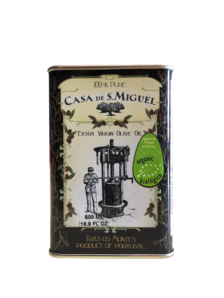 Casa De S.Miguel  Organic Extra Virgin Olive Oil Can