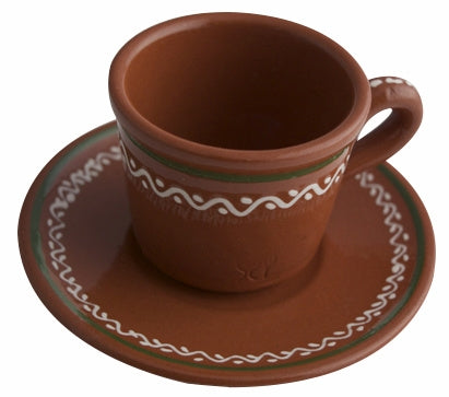 Portugalia Marketplace  Espresso Cup and Dish
