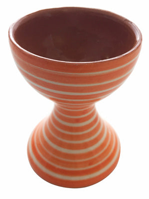 Portugalia Hand-Painted Egg Holder - Orange
