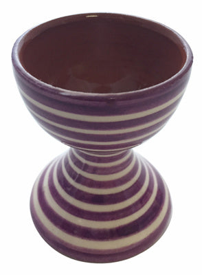 Portugalia Hand-Painted Egg Holder - Purple