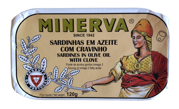 Minerva Sardines in Olive Oil with Clove