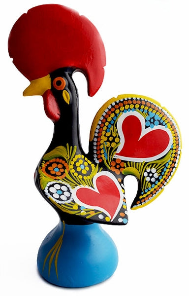 10.5 Inch Galo Barcelos  Traditional Hand-Crafted Clay Rooster