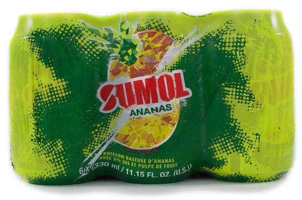Sumol Pineapple Cans 6x330ml