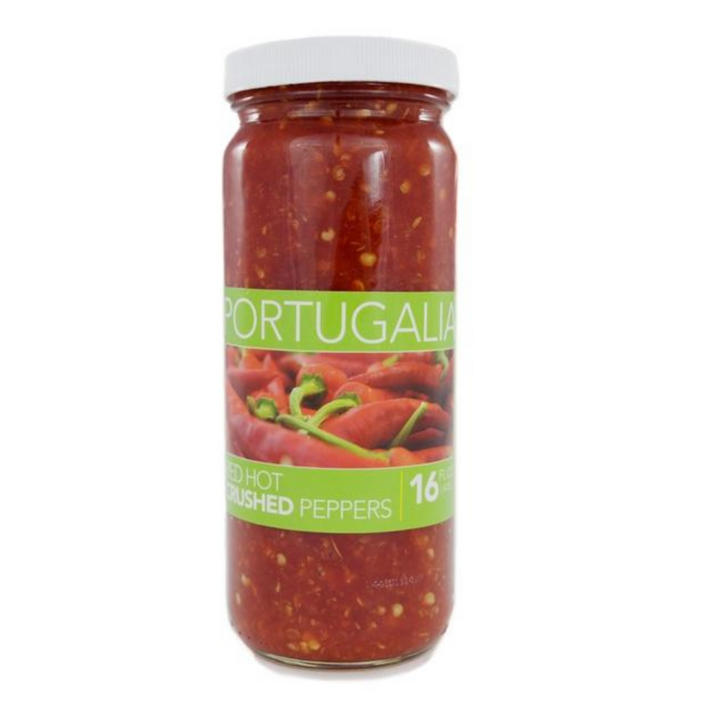 Portugalia  Red Hot Crushed Peppers - 16 Ounce
